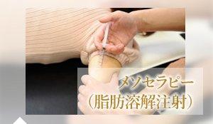 メソセラピー (脂肪溶解注射)