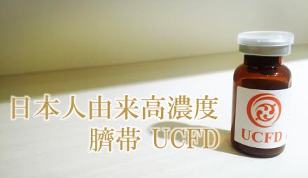 日本人由来高濃度臍帯 UCFD